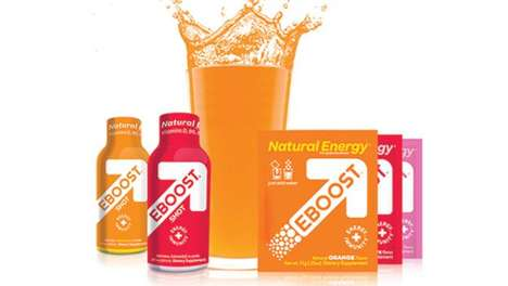 Natural Energy Supplements - EBOOST is a Blend of Vitamins, Minerals and Super-Nutrients