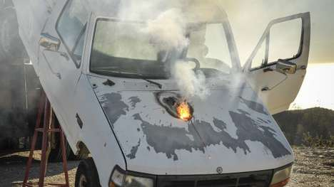 Futuristic Laser Weapons - This Lockheed Martin Laser Weapon Took Out a Truck