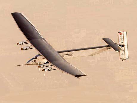 Solar-Powered Planes (UPDATE) - Solar Impulse 2 Has Started Its Trip Around the World Without Fuel