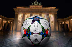 Free-Spirited Soccer Balls - The Adidas Finale Berlin Ball is Inspired By Berlin's Artistic Spirit