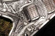 These Customized Guitars Take Inspiration From Viking History