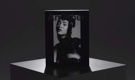 Electronic Magazine Covers - The AnOther Digital Limited Edition Features 2 Minutes of Rihanna
