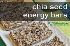 DIY Chia Seed Bars - These Healthy Energy Bars Are a Perfect School Snack for Kids
