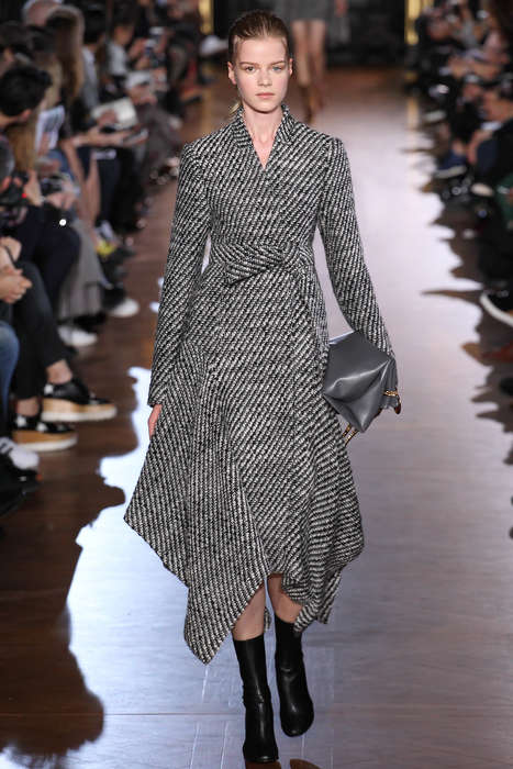 Asymmetrical Business Couture - Stella McCartney's Ready-To-Wear Line Offers Officewear with an Edge