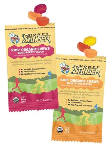 Energizing Fruit Chews - Honey Stinger's Snacks Provide Sweet, Healthy Bursts of Energy