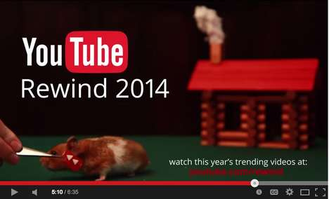 Compiled Pop-Culture Videos - YouTube Rewind 2014 Mashes Hot Music with Memorable Personalities