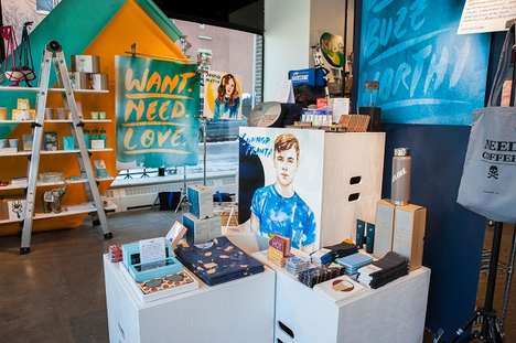 Experiential Co-branded Retail - AwesomenessTV and STORY Team Up for a Pop-up Retail Experience