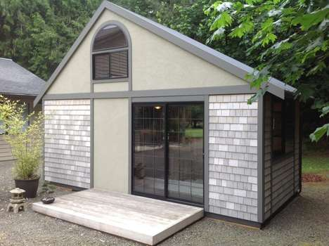Sustainable Micro Dwellings - Chris Heininge's Small Living Space is Only 280 Square Feet
