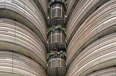 Vegetable-Inspired Buildings - Nanyang Technological University Has a New Building by Heatherwick