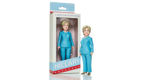Presidential Action Figures - The Hillary Clinton Action Figure Sends an Empowering Message to Girls