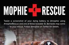 The Mophie Battery Rescue Dogs Save Dead Devices at SXSW