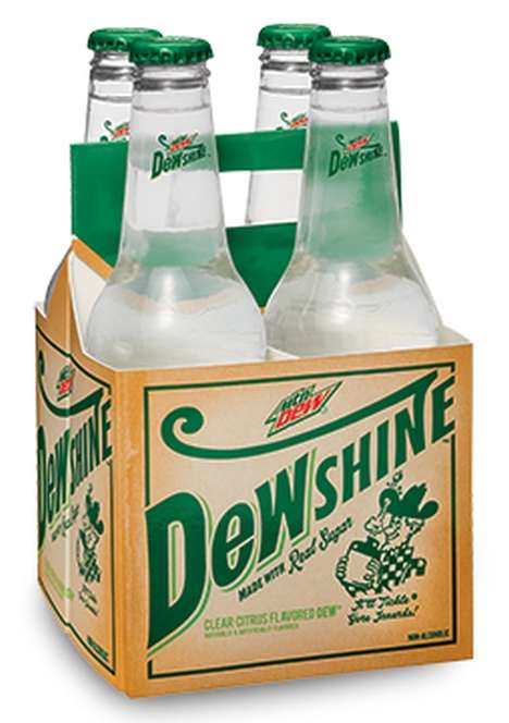Craft Citrus Sodas - Dewshine is Now Being Offered as a Craft Version of Mountain Dew