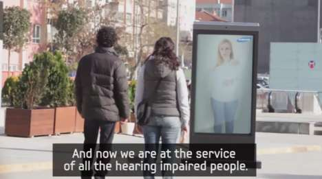 Citywide Signing Stunts - A Whole Town Helps Samsung Introduce Its Accessible Services
