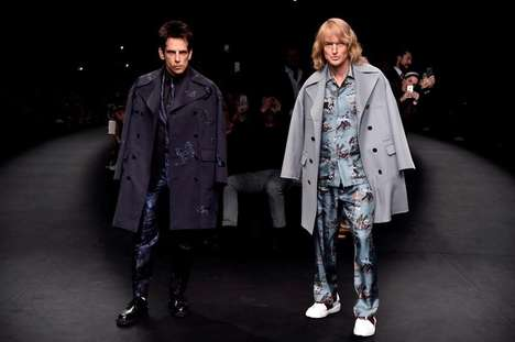 Cinematic Runway Promotions - Derek Zoolander at Valentino was Paris Fashion Week's Hottest Ticket