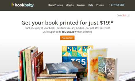 One-Off Print Services - BookBaby Makes It Easy to Self-Print a Single Edition or a Few Book Copies