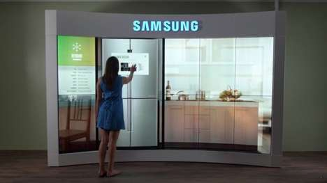 Immersive Touch Screen Installations - Samsung CenterStage Creates Sensory Experiences for Users