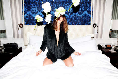 Hotel Party Editorials - Frankie Mark Photographs 'Girls In My Room' for C-Heads
