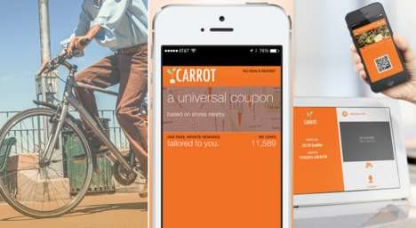 Exercise-Rewarding Retail Apps - Carrot Offers Health Incentives and Offers at Local Businesses