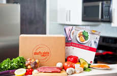 Executive Meal Subscriptions - Chef's Plate Offers Chef-Designed Meals for Quality Convenience