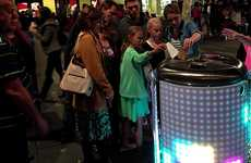 Gamified Garbage Disposals - This Augmented Reality Trash Can Turns Garbage Into Multimedia Tetris