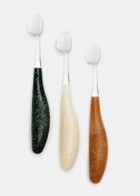Recycled Toothbrush Handles - Rodale's Features Eco-Friendly Dental Accessories in Three Colors