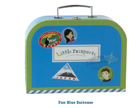Kiddie Voyager Kits - A Little Passports Subscription Takes Kids on a New Adventure Each Month