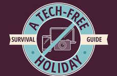 Unplugging Travel Tips - This Direct Holidays Infographic Offers Suggestions for a Tech-Free Trip