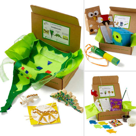 Educational Craft Subscriptions - Green Kid Crafts' Activity Boxes Gift Smarts & Sustainability