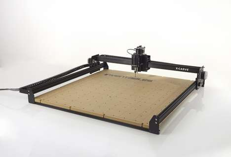 3D Carving Machines - The X-Carve Creates 3D Pieces From Wood, Metal and Plastic