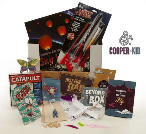 Fatherly Playtime Kits - The Cooper Kit Supplies Monthly Dad and Kid Activities