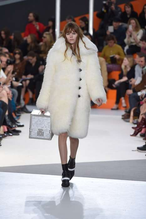 Cozy Winter Coat Runways - The Latest Louis Vuitton Collection Revives the Chunky Fur Coat