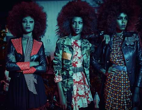 Urban Disco Fashion - Vogue Italia's The Last Chic Story is an Homage to the 70s