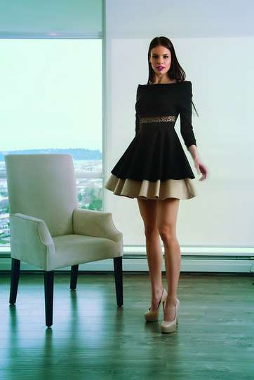 Sophisticated Transition Fashion - Madame Moje Brings Parisian Elegance to Day-to-Night Outfits