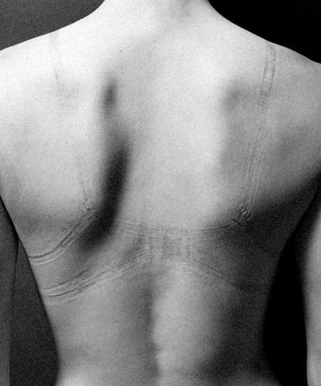 Imprinted Bodily Photography - Justin Bartels Created IMPRESSION After Dating Women in College