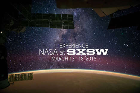 Interactive Interstellar Events - NASA at SXSW Gives a Hands-On Look at Technology and Exploration