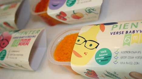 Consciously Preserved Infant Meals - Pienter Baby Food Develops Kids' Taste Recognition Skills