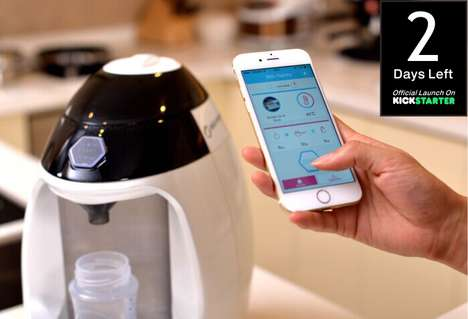 Formula-Automating Appliances - This Automatic Baby Formula Maker is Perfect for Parents On the Go