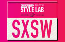 Interactive Fashion Lounges - The Cosmopolitan Style Lab is Presented by Intel and COVERGIRL