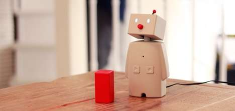 Personal Robot Phones - The BOCCO Robot Makes Sending Messages Easier Than Traditional Cell Phones