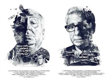 Narrative Film Director Portraits - Julian Rentzsch and Stellavie Design Manufaktur Create Bold Art
