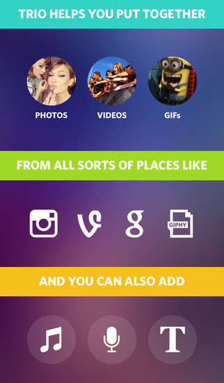 Media Mashup Apps - Trio Helps Users Collaborate and Remix Images, Music and Video Content
