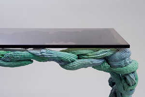 The Plastic Baroque by James Shaw Uses Thermoplastics