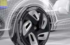 Energy-Generating Tires - The Goodyear BH03 Uses Heat to Recharge Hybrid and EV Batteries