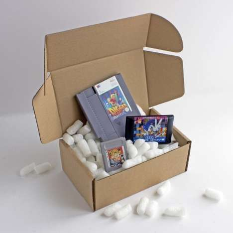 8-Bit Subscription Services - 'My Retro Game Box' Makes It Easy to Stock Up on Classic Video Games