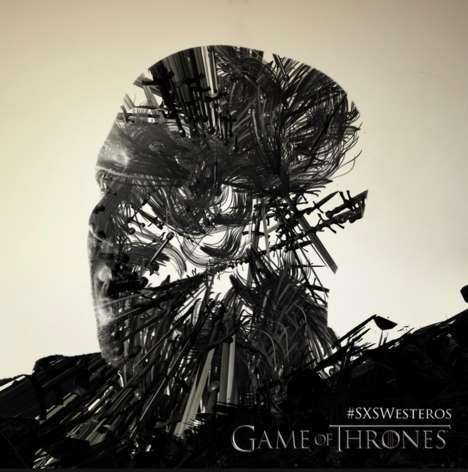 TV Superfan Posters - HBO Helped Fans Become Part of Game of Thrones Posters at SXSW
