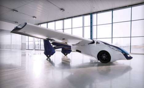 Self-Flying Cars - AreoMobil CEO Announces Plans for the Mass Market at SXSW 2015