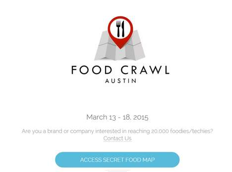 Foodie Scavenger Hunts - The Austin Food Crawl Gives SXSW Visitors a Taste of the Texan City