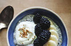 Fruity Chia Recipes - The Blackberry Chia Breakfast Bowl is a Healthy and Energy-Boosting Dish