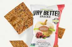 Autumnal Corn Chips - Way Better's Cranberry Pumpkin Snack is Powered by Fall-Flavored Superfoods