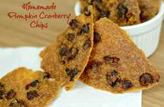 Homemade Pumpkin Chips - Ingredients of a Fit Chick Creates a Gluten-Free Snack with Cranberries